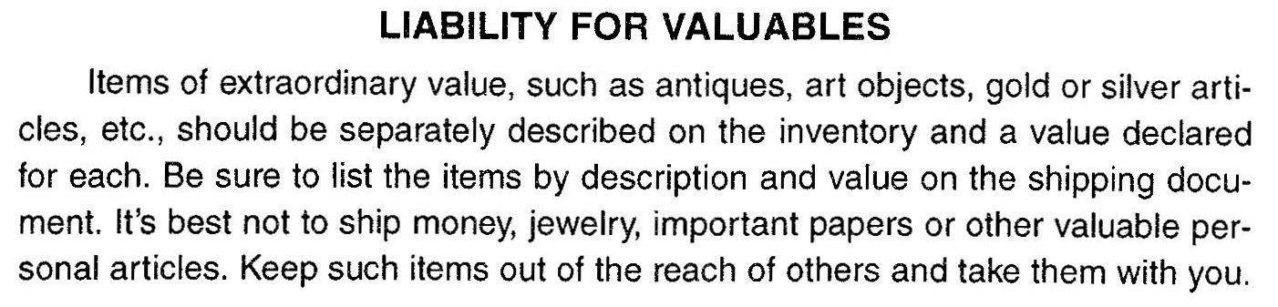 booklet -_liability_of_valuables